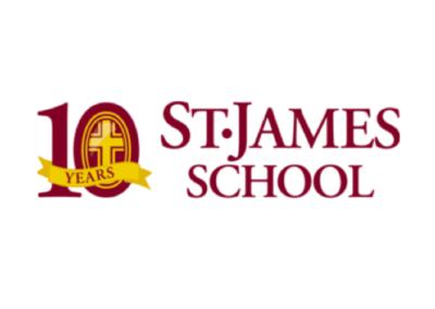 St James School logo